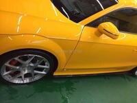 Сбоку Юбки для женщин диффузор Дизайн для Audi TT TTS из passcehs Стиль углерода Волокно Материал