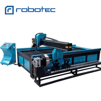Chinese power supply thicker metal cutting machine RTP 1325 1530 cnc plasma cutting machine