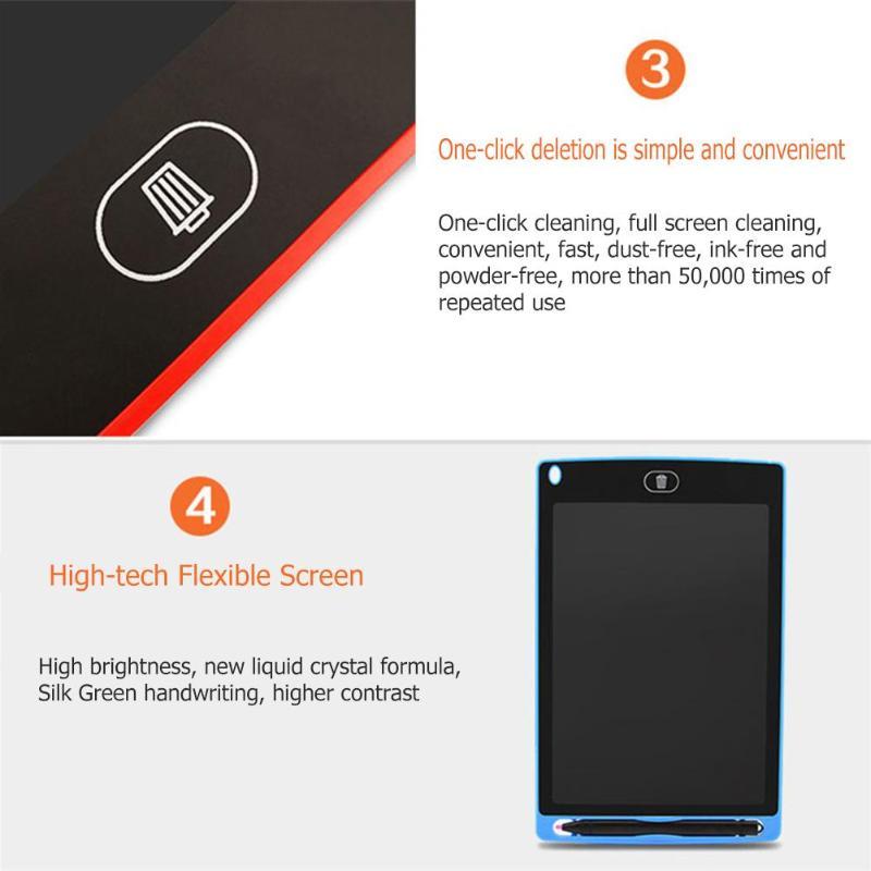 Tableta de escritura LCD inteligente Bloc de notas electrónico 13