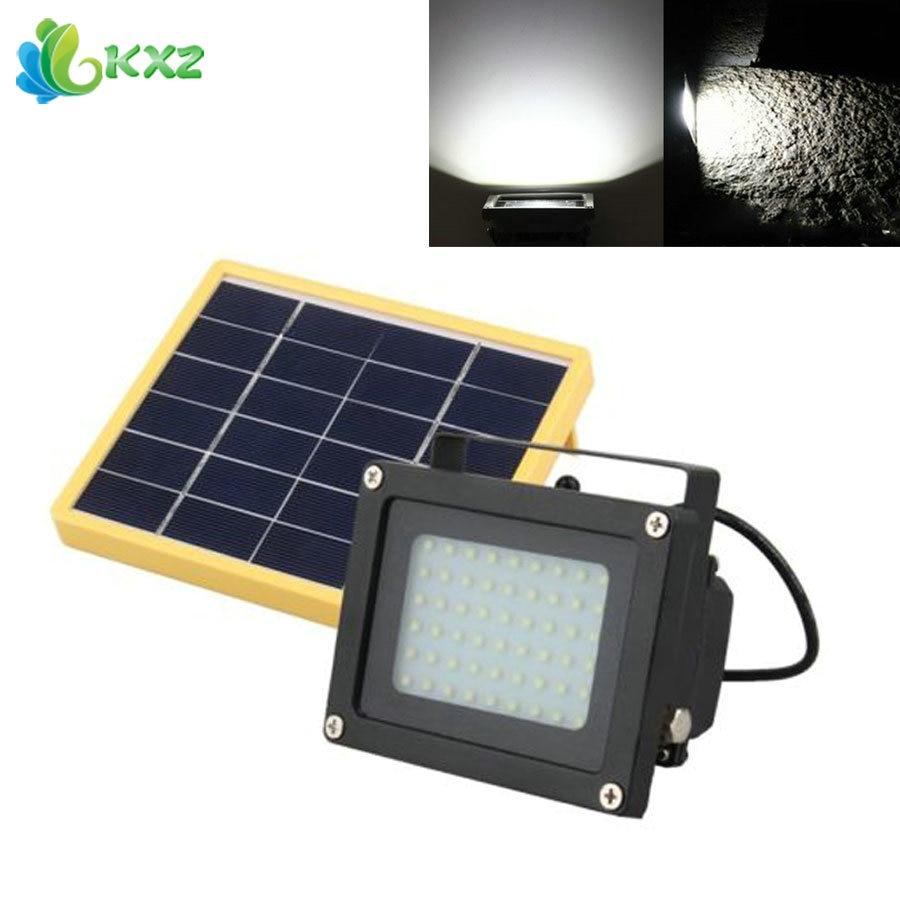 Ruocin Solar Power LED Flood Light Dusk To Dawn Sensor