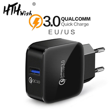 Quick Charge 3.0 Fast Charger For Iphone 7 8 Plus X Qc 3.0 Phone Charger For Xiaomi Mi 9 Redmi 6a Mi8 For Huawei Mate 20 10 Pro цены
