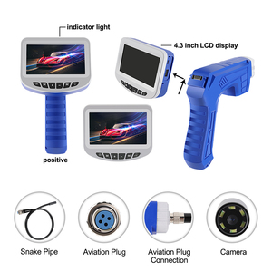Image 2 - 1080P Industrial Endoscope Inspection Camera Portable Hard Cable Handheld Wifi Borescope Videoscope with 4.3 inch LCD Endoscope