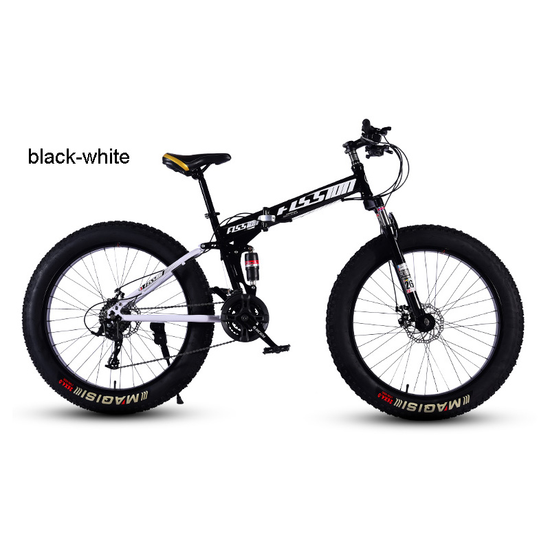 Bicycle Mountain Bike Beach Bike Spoke Wheel 24/26 Inches High Carbon Steel Rigid Frame Snow Riding 21 24 27 Speed