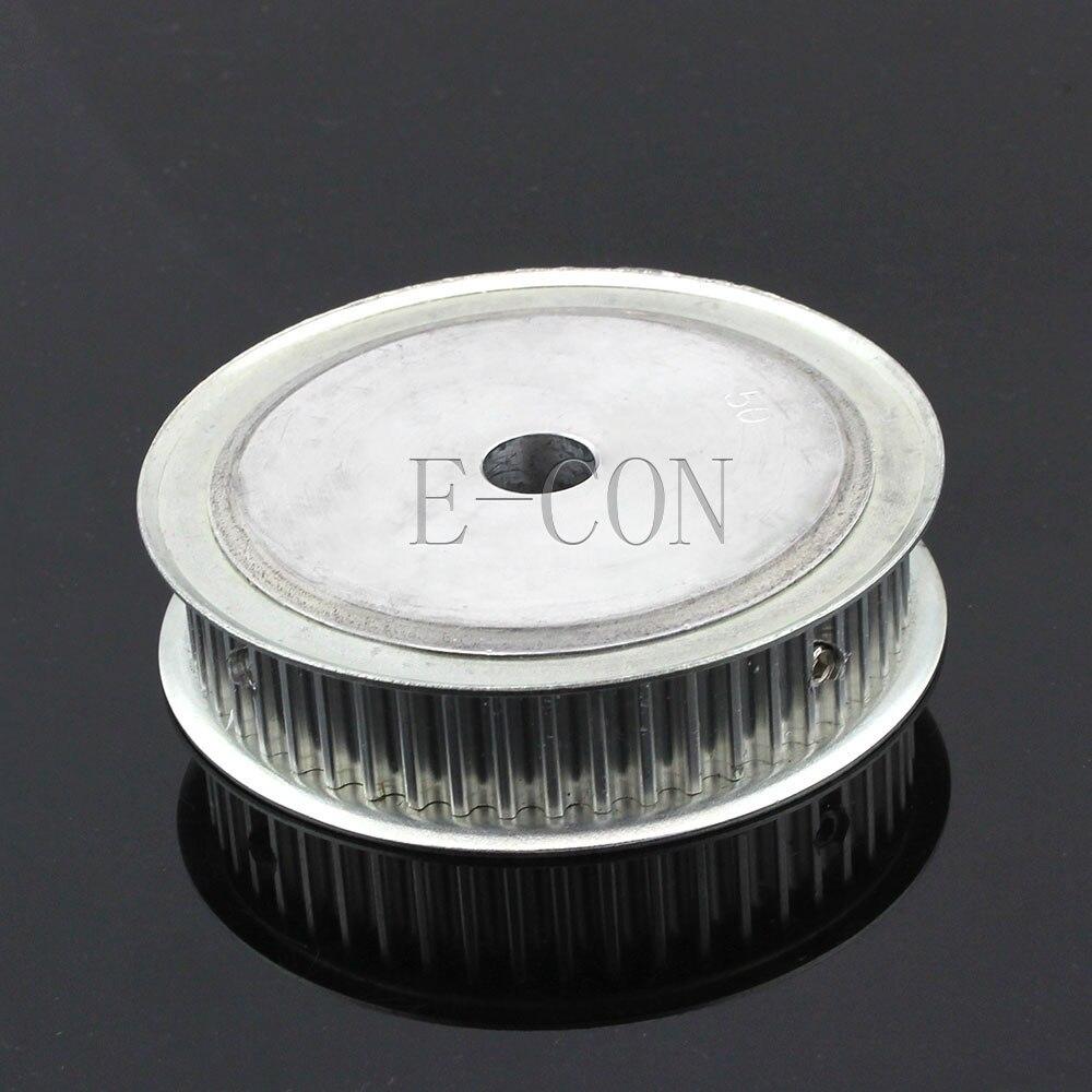 5 pcs/Lot HTD5M50 poulie de distribution 50 dents Alumium Bore 8mm/10mm/12mm/15mm Dents largeur 16mm pour moteur pas à pas CNC