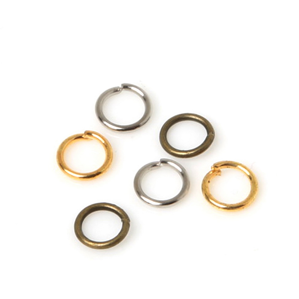 Careful 800pcs 0.7x5mm Jump Rings Jewelry Findings And Components Open Jump Rings Split Rings For Diy Bracelet & Necklace Do You Want To Buy Some Chinese Native Produce? Jewelry & Accessories