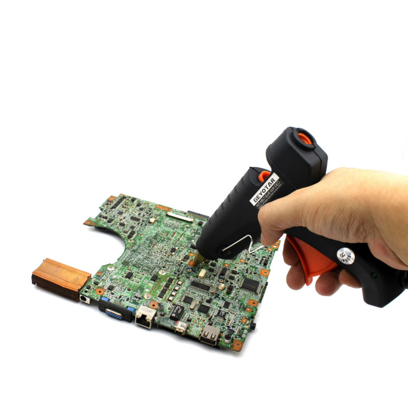 EU Plug 60W 220V Professional tavná lepicí pistole vyhřívací - Elektrické nářadí - Fotografie 2