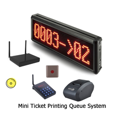 queue management system Factory Outlet Video Demo Two-way Custom printed wireless calling system queue wireless calling system