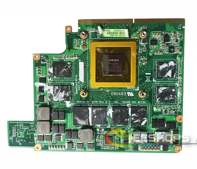 for Asus G73 Seris G73SW G73JW G75VW Gaming Laptop NVIDIA GeForce GTX 560M GTX560M GDDR5 1.5 GB Graphics Video Card Drive Case