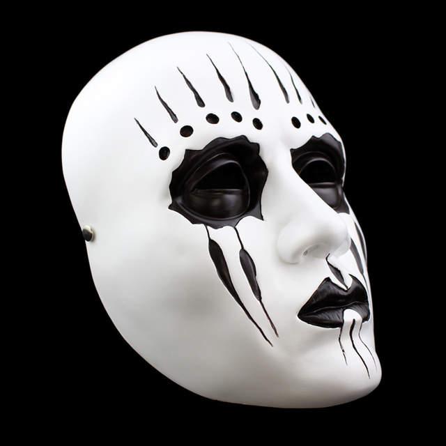 Ev Ve Bahce Ten Parti Maskleri De Recine Beyaz Slipknot Maskesi