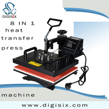 8 In 1 Combo Heat Press Machine,Sublimation/Heat Transfer Machine,Heat Press For Mug/Cap/T shirt /Phone case