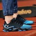 Los Hombres respirables Zapatos Casuales Atan Para Arriba Para Hombre Entrenadores Planas Zapatos Para Caminar Deporte Cómodas Zapatillas Hombre Canasta Femme Luz Suave