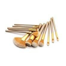 Pro 1pcs Makeup Brushes Set Cosmetic Face Foundation Powder Eyeshadow Blush Lip Plating Make Up Brush Kit Maquiage YA319-16 цена