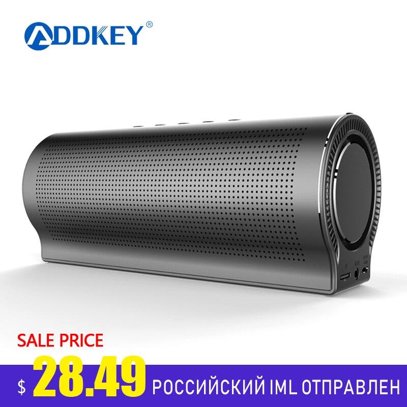 ADDKEY Speaker Bluetooth Phone-Holder Music-Player Subwoofer Deep-Bass Wireless Lightweight