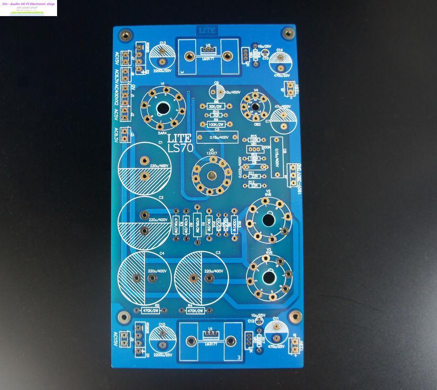Vin negozio FAI DA TE scheda Audio LS70 tubo rettificato scheda di alimentazione scheda vuota PCB trasporto liberoVin negozio FAI DA TE scheda Audio LS70 tubo rettificato scheda di alimentazione scheda vuota PCB trasporto libero