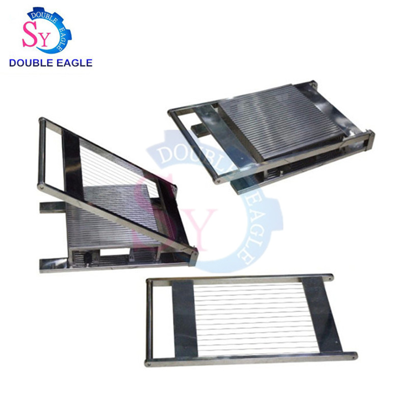 304 Stainless Steel 15*15mm Manual Fudge Candy Chocolate Cutting Machine/soft Sweets Cutter