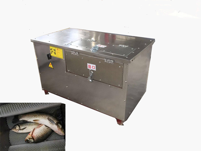 Full Automatic Fish Scaling Machine Scale Removing Machine With Cleaning Function