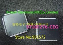 送料無料! 10ピースサイズ(28 × 28 × 3.4ミリメートル) ST10F276 CEG ST10F276 qfp