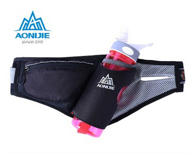AONIJIE Running Free Running Accessories Fanny Pack Men Women Waist Packs Running Accessories Waterproof Nylon Bag