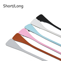 New Short Extra Slim Interchangeable Angular Handles Faux Leather Handles For OBag Ocity For EVA O