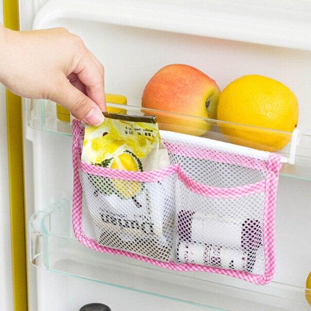 New Modern Hanging Storage Cucina Frigorifero Sacchetto di Cibo Organizzatore De