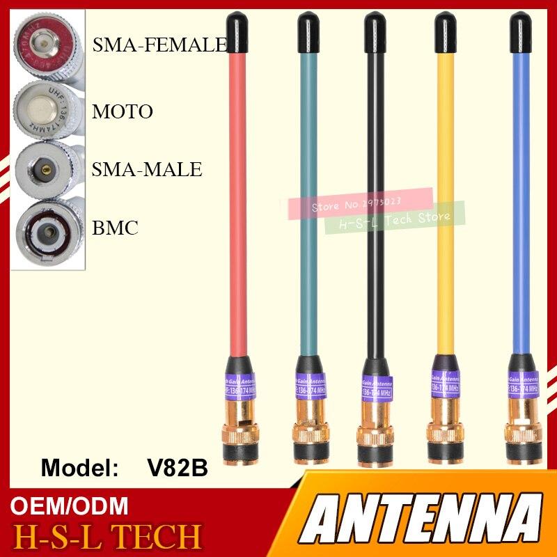 Free Shipping Handheld Walkie Talkie Antenna 245-246MHz BNC Type Two Way Radio Antenna High Gain Mobile Radio Antenna