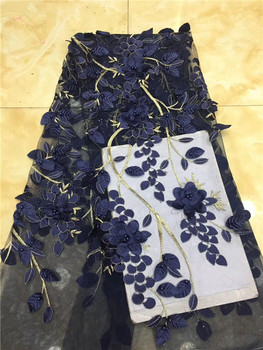 3d lace fabric with beads net lace fabric for wedding dress nigerian lace fabric 2019 sales 5 yards/lott