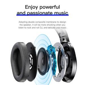 Image 4 - Baseus D02 Bluetooth Kopfhörer Tragbare Kopfhörer Bluetooth Headset Stereo Drahtlose Kopfhörer Mit Mikrofon Für Telefon Computer