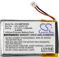 Cameron Sino 230mah battery for GARMIN Fenix 5 361 00097 00 batteries