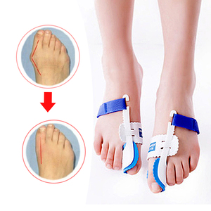 Image 2 - Orthopedic Bunion Corrector Device Hallux Valgus Toe Correction Pedicure Foot Care Legs Thumb Goodnight Daily Big Bone Orthotics