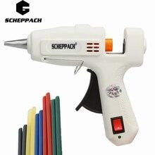 Scheppach 25 Вт высокое Температура нагреватель расплава горячий клей пистолет оправдают инструмент для ремонта тепловые пушки pistolas silicona калиенте pistolet Колле