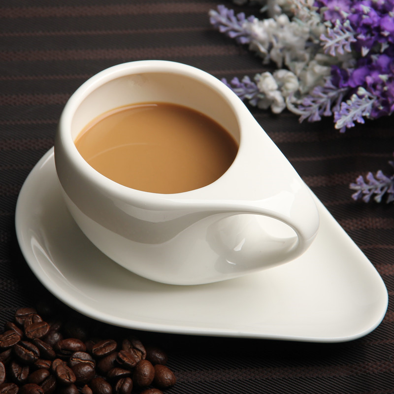 175ml white ceramic coffee cup cappuccino american ...