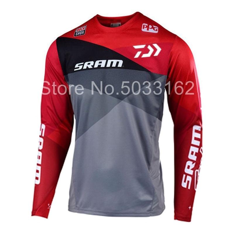 Downhill Jersey Mtb-Offroad Long-T-Shirt Motorcycle Enduro New Racing-Riding