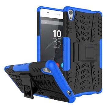WolfRule para la cubierta Sony Xperia XA Ultra caso TPU y PC caja del teléfono del soporte para Sony Xperia XA Ultra cubierta para Sony C6 caso F3212