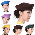 Retail Chef Hats Cafe Bar Waiter Beret Restaurant Hotel Work Wear Adjustable Kitchen Cook Cap Men Women Working Cap