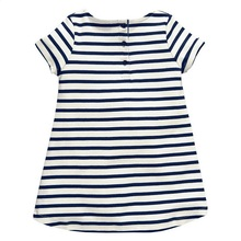 Fashion Summer Striped Cotton Baby Girl's Dress