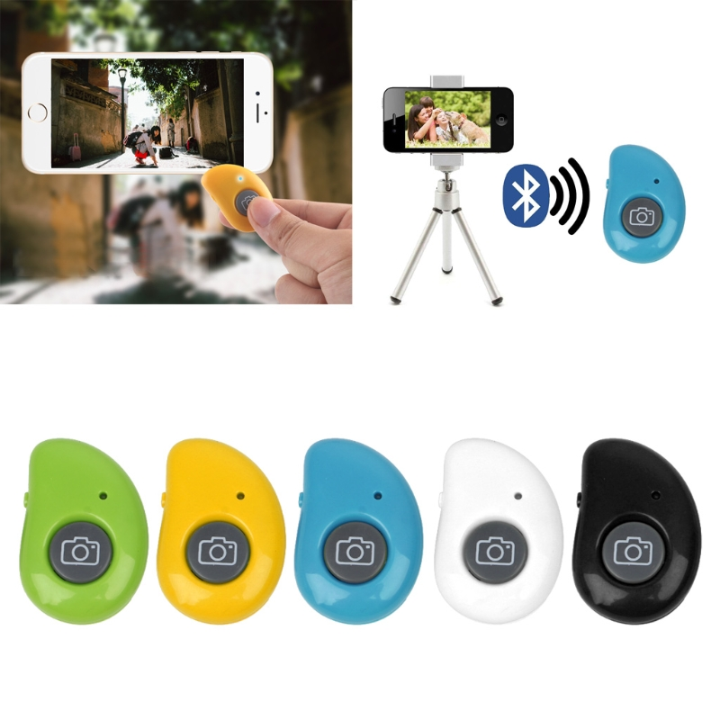 Wireless Bluetooth Selfie Shutter Button Remote Control For Smartphone