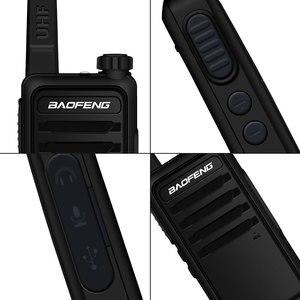 Image 2 - Walkie Talkie baofeng bf r5 niños mini radio de dos vías de radio uhf portátil 2 W juguete comunicador BF R5 Radio FM HF transceptor jamón cb