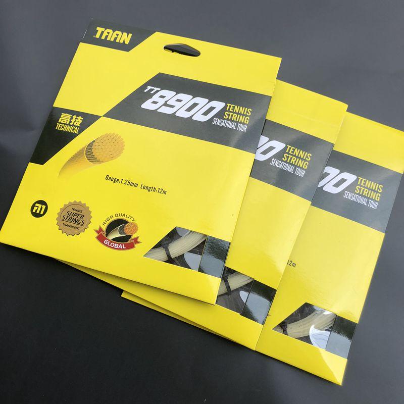 1pc TAAN TT8900 Technical Gut Tennis String Synthetic Tennis Racquet String Rackets String 1.25mm Gut Tennis Strings