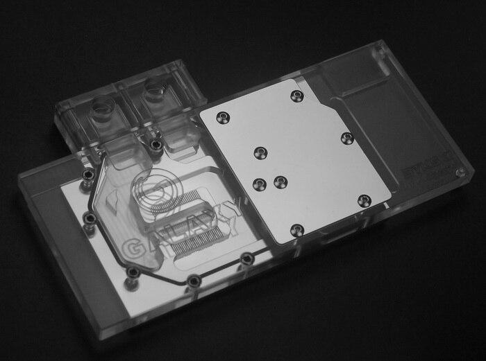 N-GY97-X Bykski pour bloc de refroidissement à eau GALAX Ginwrd GTX 950/960/970 VGA