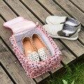 Bolsa de Viaje de Nylon Resistente Al Agua de verano Carrie Bradshaw Zapatos Hombres y Mujeres Del Bolso Bolsa de Accesorios de Viaje Del Organizador Del Zapato ZB-631