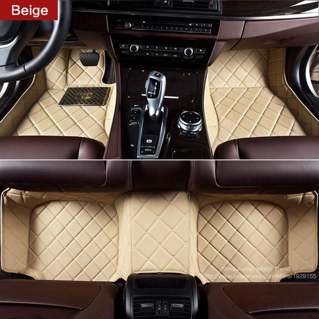 Custom Fit Car Floor Mats For Ford Focus Mk2 Mk3 Edge