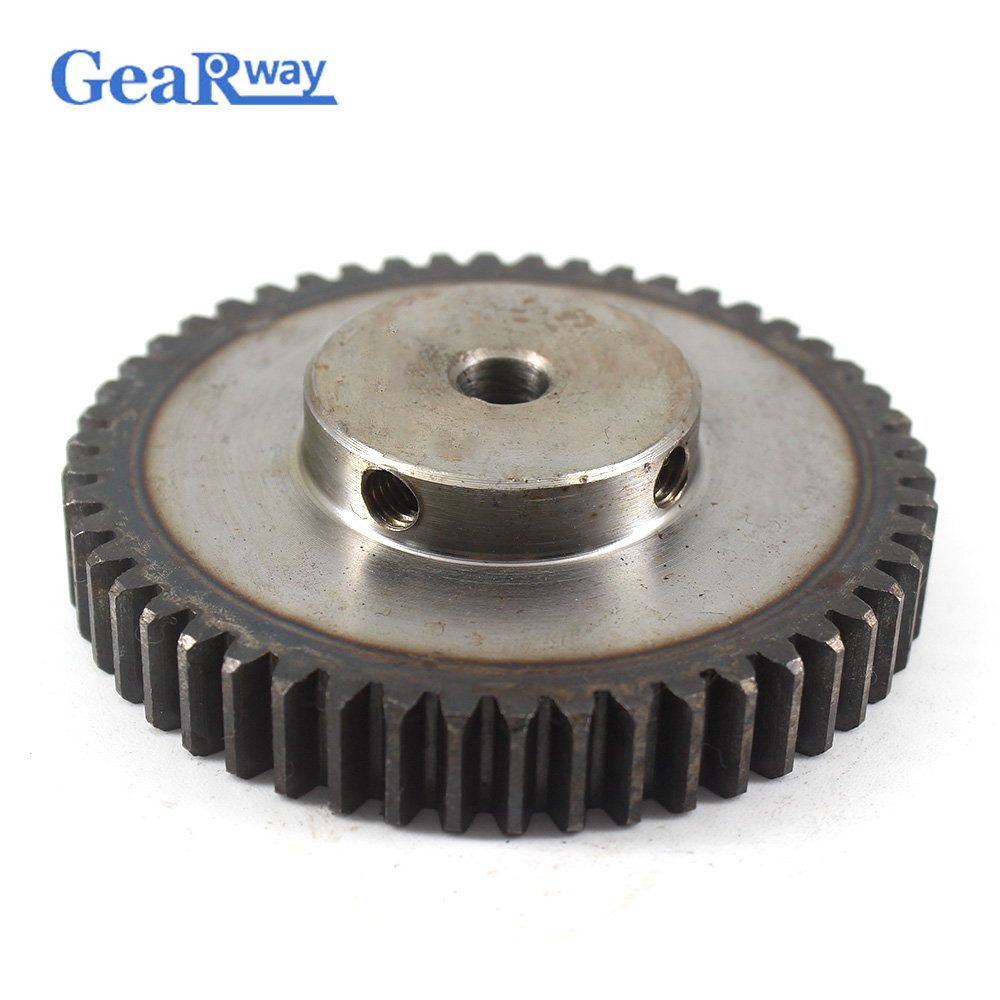 Gear Wheel Metal 1.5Module 50T 45Steel Rc Pinion Gears 8/10/12/15/16/25mm Bore 1.5 Mould 50Tooth Gear Wheel Spur Gear Pinion gear wheel metal 1 5module 60t 45steel rc pinion gears 8 10 12 15 16 20mm bore 1 5 mould 60tooth gear wheel spur gear pinion