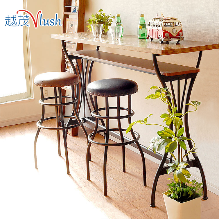 Bar Tables Wrought Iron Bar Stools Combination Mini Bar