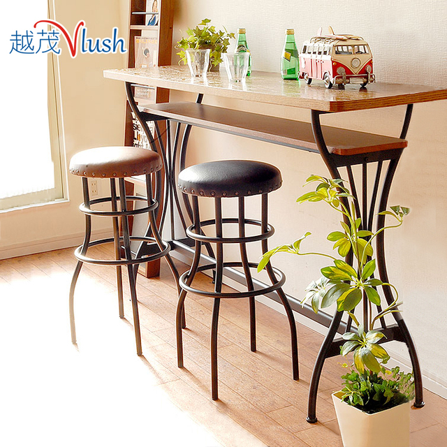Gentil Bar Tables, Wrought Iron Bar Stools Combination Mini Bar Breakfast Table  High Bar Tables