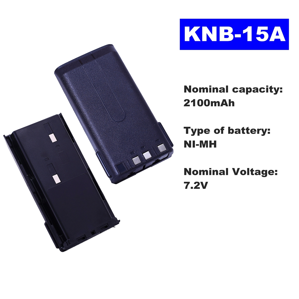 7.2V 2100mAh NI-MH Radio Battery KNB-15A For Kenwood Walkie Talkie TK-2107/3107/2100 TK-278/378G TK260/370/272 Two Way Radio7.2V 2100mAh NI-MH Radio Battery KNB-15A For Kenwood Walkie Talkie TK-2107/3107/2100 TK-278/378G TK260/370/272 Two Way Radio