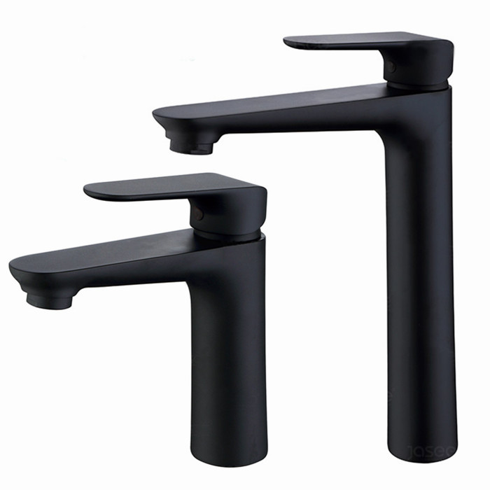 Matte Black Hole and Cold Water Basin Faucet Sink Mixer Tap Brass Deck Mount Bathroom Single Handle faucet BL888 matte black faucet hole cold and hot water basin faucet basin sink mixer tap brass made single handle single basin crane al 7808