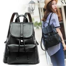Новинка 2017 Двойной плечевой рюкзак женский корейский издание колледжа ветер рюкзак для отдыха женская сумка прилива