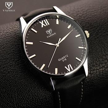 YAZOLE Mens Watches Top Brand Luxury Famous Wristwatches new Male Clock watch men Quartz Whatch Relogio Masculino reloj hombre A lo ultimo en reloj tourbillon
