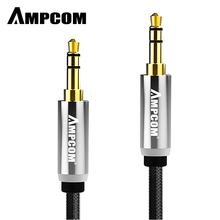 AMPCOM 3.5mm Audio Cable 3.5 Jack Lossless Pure Copper Male to Stereo Aux For Car Headphone PC