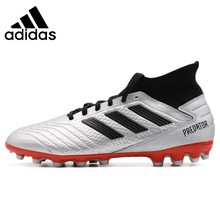 ADIDAS PREDATOR 19.3 AG Original New Arrival Men Football Shoes Comfortable Lightweight Sports Soccer Sneakers #F99989 original new arrival nike men s hypervenom phelon ii tf light comfortable football soccer shoes sneakers